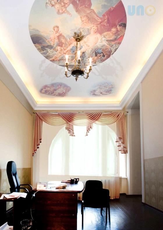 קירות נמתחים בעיצוב קלאסי